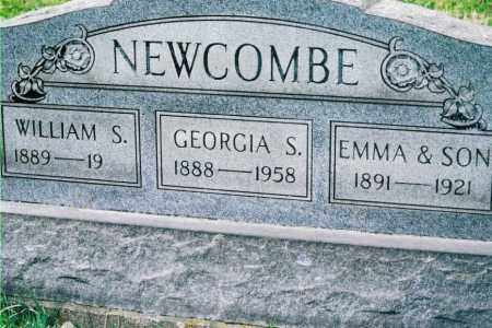 SILVERS NEWCOMBE, GEORGIA - Jefferson County, Ohio | GEORGIA SILVERS NEWCOMBE - Ohio Gravestone Photos