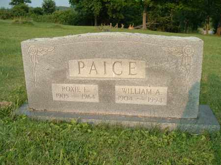PAICE, WILLIAM AUSTIN - Jefferson County, Ohio | WILLIAM AUSTIN PAICE - Ohio Gravestone Photos
