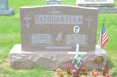 PASQUARELLA, VICTOR R. - Jefferson County, Ohio | VICTOR R. PASQUARELLA - Ohio Gravestone Photos