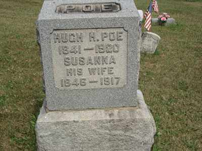 POE, HUGH H. - Jefferson County, Ohio | HUGH H. POE - Ohio Gravestone Photos