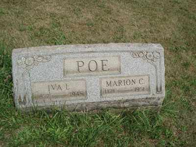 BLACKBURN POE, IVA LENORE - Jefferson County, Ohio | IVA LENORE BLACKBURN POE - Ohio Gravestone Photos