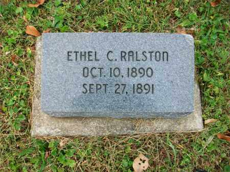 RALSTON, ETHEL C - Jefferson County, Ohio | ETHEL C RALSTON - Ohio Gravestone Photos