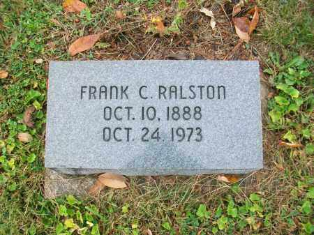 RALSTON, FRANK COURTRIGHT - Jefferson County, Ohio | FRANK COURTRIGHT RALSTON - Ohio Gravestone Photos