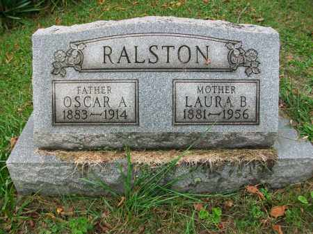 RALSTON, OSCAR A - Jefferson County, Ohio | OSCAR A RALSTON - Ohio Gravestone Photos