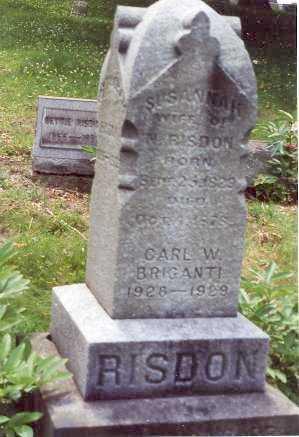 FERGUSON RISDON, SUSANNAH - Jefferson County, Ohio | SUSANNAH FERGUSON RISDON - Ohio Gravestone Photos