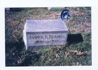 RUSSELL, JASPER RILEY - Jefferson County, Ohio | JASPER RILEY RUSSELL - Ohio Gravestone Photos