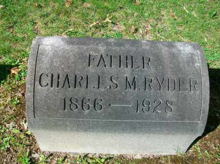RYDER, CHARLES MELVIN - Jefferson County, Ohio | CHARLES MELVIN RYDER - Ohio Gravestone Photos