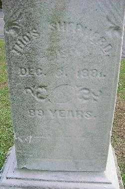 SHEPHERD, THOMAS - Jefferson County, Ohio | THOMAS SHEPHERD - Ohio Gravestone Photos