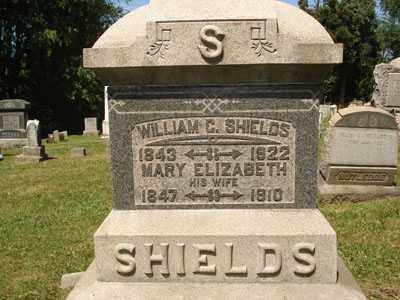 SHIELDS, WILLIAM C. - Jefferson County, Ohio | WILLIAM C. SHIELDS - Ohio Gravestone Photos