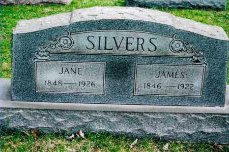 SILVERS, SARAH JANE - Jefferson County, Ohio | SARAH JANE SILVERS - Ohio Gravestone Photos