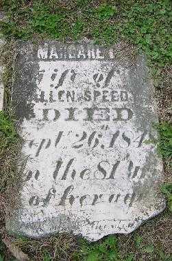 SPEEDY, MARGARET - Jefferson County, Ohio | MARGARET SPEEDY - Ohio Gravestone Photos