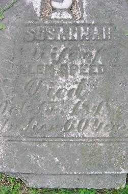MCCANNIS SPEEDY, SUSANNAH - Jefferson County, Ohio | SUSANNAH MCCANNIS SPEEDY - Ohio Gravestone Photos