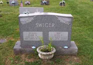 HUGGINS SWIGER, LUCY J. - Jefferson County, Ohio | LUCY J. HUGGINS SWIGER - Ohio Gravestone Photos