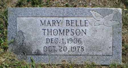 THOMPSON, MARY BELLE - Jefferson County, Ohio | MARY BELLE THOMPSON - Ohio Gravestone Photos