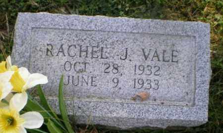 VALE, RACHEL J - Jefferson County, Ohio | RACHEL J VALE - Ohio Gravestone Photos