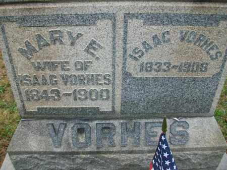 VORHES, ISAAC - Jefferson County, Ohio | ISAAC VORHES - Ohio Gravestone Photos