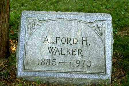 WALKER, ALFORD - Jefferson County, Ohio | ALFORD WALKER - Ohio Gravestone Photos
