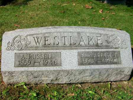 WESTLAKE, ELIZABETH JANE - Jefferson County, Ohio | ELIZABETH JANE WESTLAKE - Ohio Gravestone Photos