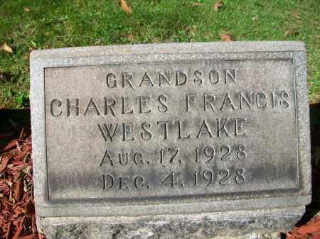WESTLAKE, CHARLES FRANCIS - Jefferson County, Ohio | CHARLES FRANCIS WESTLAKE - Ohio Gravestone Photos