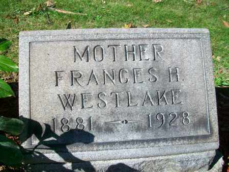 "KNOWLES WESTLAKE, FRANCES HARRIET ""FANNIE"" - Jefferson County, Ohio 