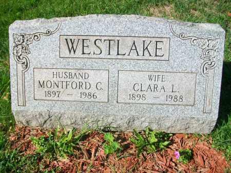 WESTLAKE, CLARA L - Jefferson County, Ohio | CLARA L WESTLAKE - Ohio Gravestone Photos