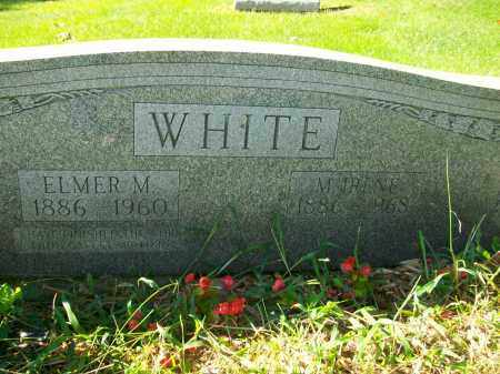 WHITE, ELMER M - Jefferson County, Ohio | ELMER M WHITE - Ohio Gravestone Photos
