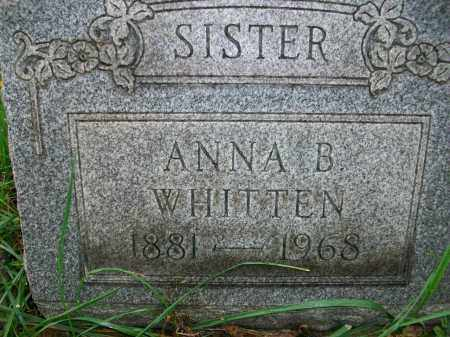 WHITTEN, ANNA BELLE - Jefferson County, Ohio | ANNA BELLE WHITTEN - Ohio Gravestone Photos