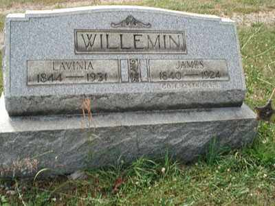 WILLEMIN, LAVINIA - Jefferson County, Ohio | LAVINIA WILLEMIN - Ohio Gravestone Photos