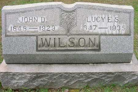 WILSON, JOHN D. - Jefferson County, Ohio | JOHN D. WILSON - Ohio Gravestone Photos