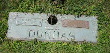 DUNHAM, LOREN KENNETH - Knox County, Ohio | LOREN KENNETH DUNHAM - Ohio Gravestone Photos
