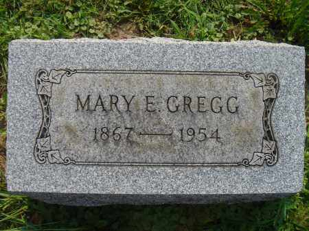 LUKENS GREGG, MARY E - Knox County, Ohio | MARY E LUKENS GREGG - Ohio Gravestone Photos