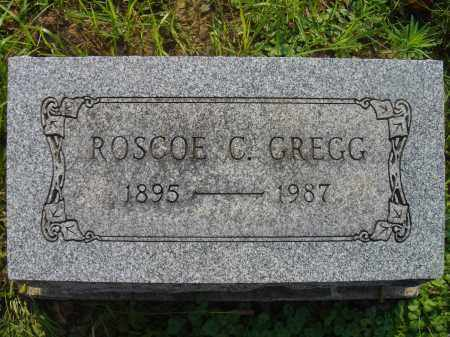 GREGG, ROSCOE - Knox County, Ohio | ROSCOE GREGG - Ohio Gravestone Photos