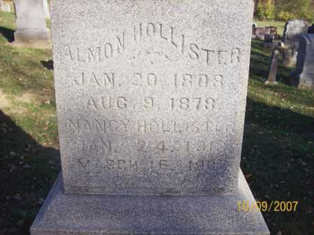MYERS HOLLISTER, NANCY - Knox County, Ohio | NANCY MYERS HOLLISTER - Ohio Gravestone Photos