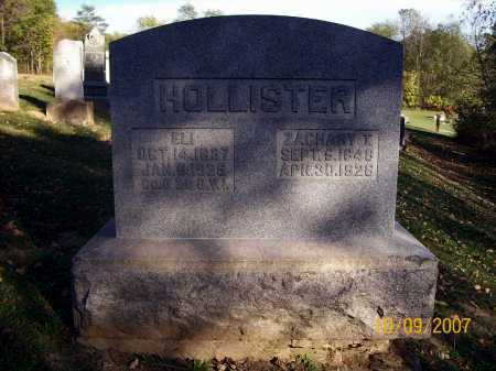 HOLLISTER, ZACHARY T. - Knox County, Ohio | ZACHARY T. HOLLISTER - Ohio Gravestone Photos