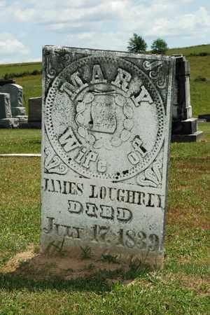 LOUGHREY, MARY - Knox County, Ohio | MARY LOUGHREY - Ohio Gravestone Photos