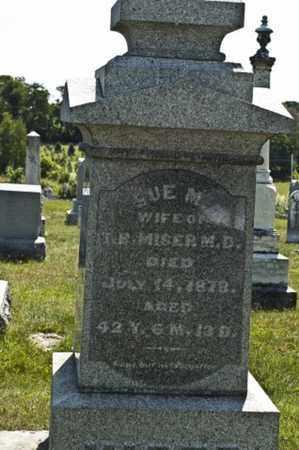 MISER, SUE - Knox County, Ohio   SUE MISER - Ohio Gravestone Photos
