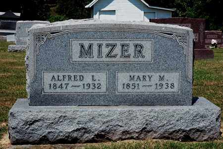 MIZER, ALFRED L. - Knox County, Ohio | ALFRED L. MIZER - Ohio Gravestone Photos