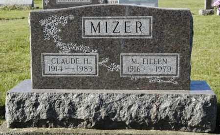 MIZER, M. EILEEN - Knox County, Ohio | M. EILEEN MIZER - Ohio Gravestone Photos