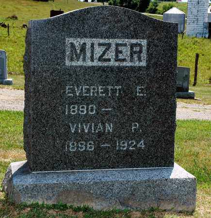 MIZER, EVERETT E. - Knox County, Ohio | EVERETT E. MIZER - Ohio Gravestone Photos