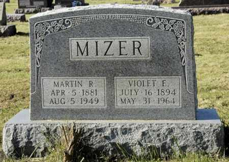 MIZER, VIOLET E. - Knox County, Ohio | VIOLET E. MIZER - Ohio Gravestone Photos