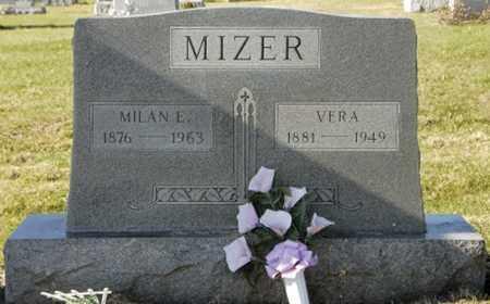 MIZER, MILAN E. - Knox County, Ohio | MILAN E. MIZER - Ohio Gravestone Photos