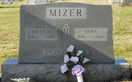 MIZER, VERA - Knox County, Ohio | VERA MIZER - Ohio Gravestone Photos