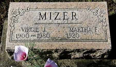 MIZER, VIRGIE J. - Knox County, Ohio | VIRGIE J. MIZER - Ohio Gravestone Photos