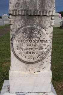 RUSSELL, HAPPY - Knox County, Ohio | HAPPY RUSSELL - Ohio Gravestone Photos