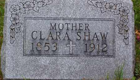 SHAW, CLARA JANE - Knox County, Ohio | CLARA JANE SHAW - Ohio Gravestone Photos