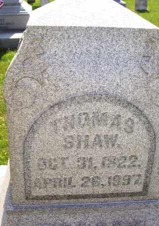 SHAW, THOMAS - Knox County, Ohio | THOMAS SHAW - Ohio Gravestone Photos