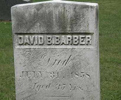 BARBER, DAVID B. - Lake County, Ohio | DAVID B. BARBER - Ohio Gravestone Photos