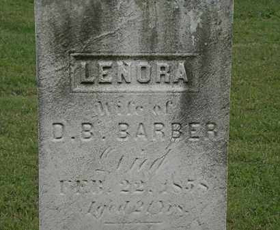BARBER, LENORA - Lake County, Ohio | LENORA BARBER - Ohio Gravestone Photos