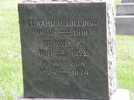 BILLINGS, EDWARD D. - Lake County, Ohio | EDWARD D. BILLINGS - Ohio Gravestone Photos