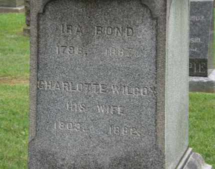 BOND, CHARLOTTE - Lake County, Ohio | CHARLOTTE BOND - Ohio Gravestone Photos